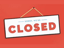 Uniform shop closed Wednesday 8 August 2018